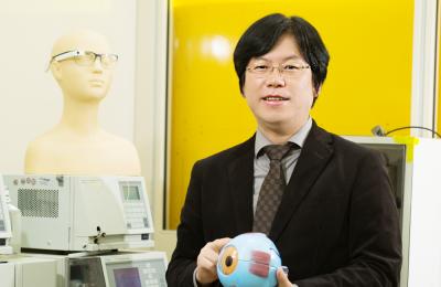 한세광 교수, 스마트 콘택트렌즈 투자유치